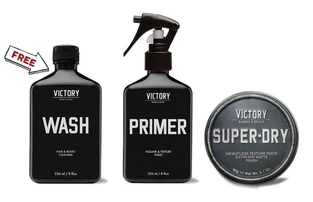 NEW Modern Rebel Grooming Kit (FREE WASH)