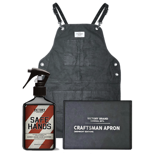Midnight Craftsman Apron With FREE Safe Hands
