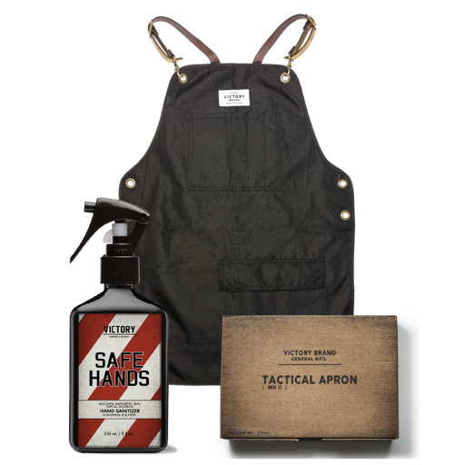 TACTICAL APRON WITH FREE SAFE HANDS
