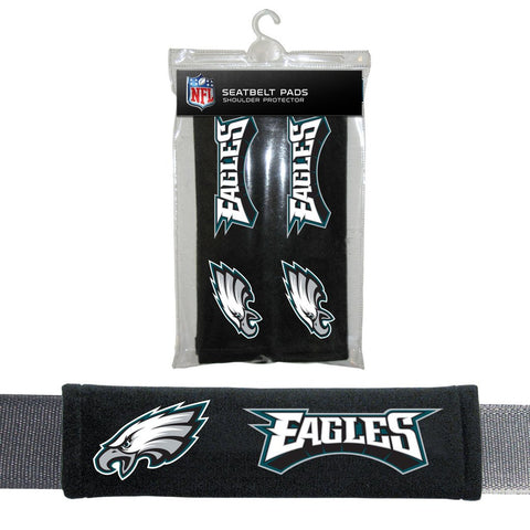 NFL Philadelphia Eagles Seat Belt Pads