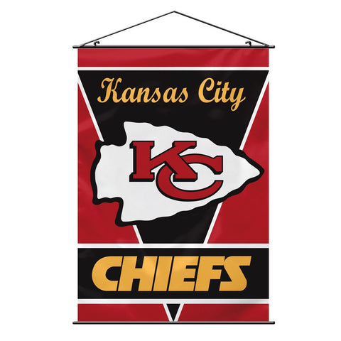 NFL KANSAS CITY CHIEFS WALL BANNER
