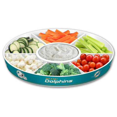 NFL Miami Dolphins Party Platter