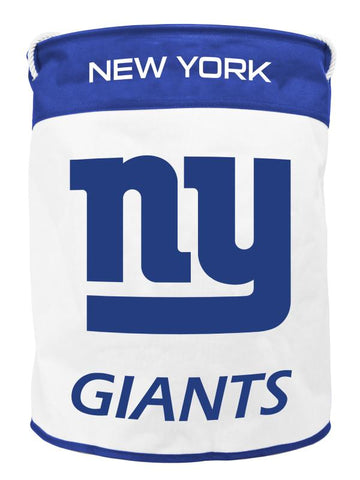 NEW YORK GIANTS CANVAS LAUNDRY BAG
