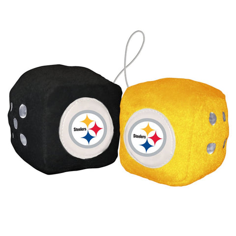 NFL Pittsburgh Steelers Fuzzy Dice