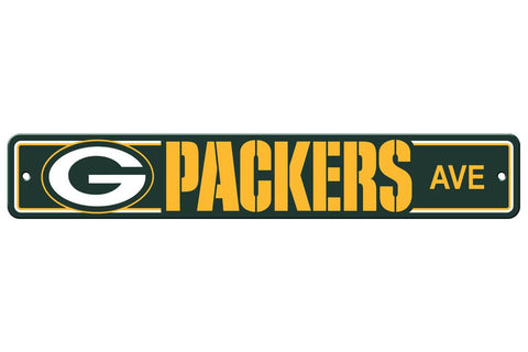 NFL Green Bay Packers Street Sign