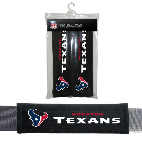 NFL Houston Texans Seat Belt Pads