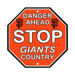 MLB San Francisco Giants Stop Sign