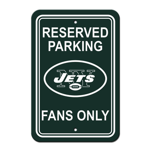 NFL New York Jets Reserved Parking Sign