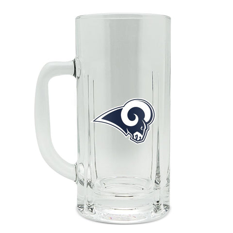 LOS ANGELES RAMS GLASS HEAVY DUTY KRAFT MUG - 20 oz