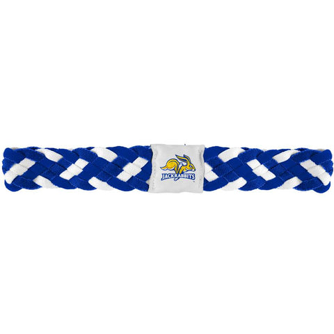 South Dakota State Jackrabbits Braided Head Band 6 Braid