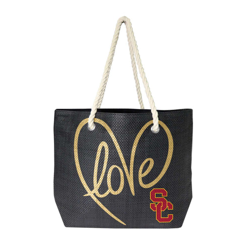 USC Trojans Rope Tote (Black Gold)