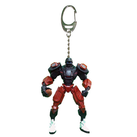 Atlanta Falcons Keychain Fox Robot 3 Inch Mini Cleatus