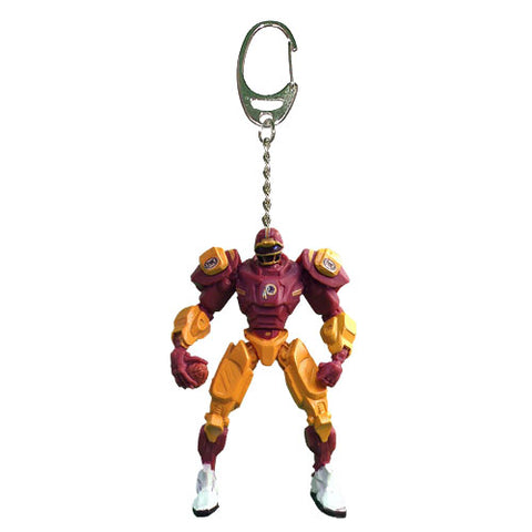 Washington Redskins Keychain Fox Robot 3 Inch Mini Cleatus