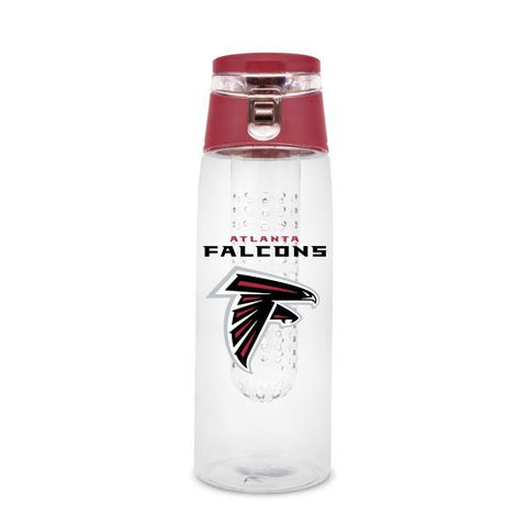 ATLANTA FALCONS PLASTIC INFUSER SPORT BOTTLE 20 OZ.