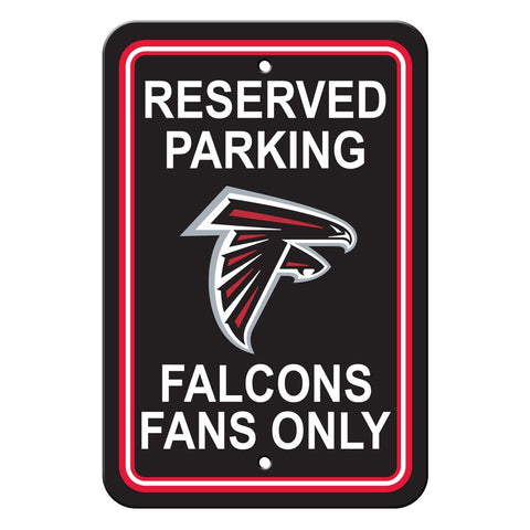 NFL Atlanta Falcons Reserved Parking Sign