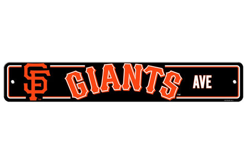 MLB San Francisco Giants Street Sign