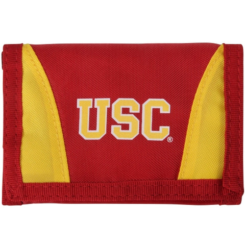 USC Trojans Wallet Nylon Trifold Alternate