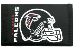 Atlanta Falcons Wallet Nylon Trifold