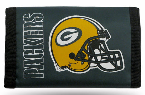Green Bay Packers Wallet Nylon Trifold