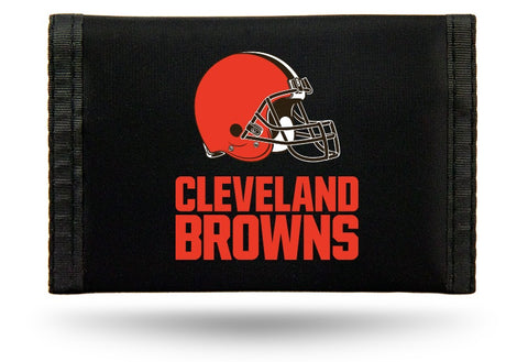 Cleveland Browns Wallet Nylon Trifold