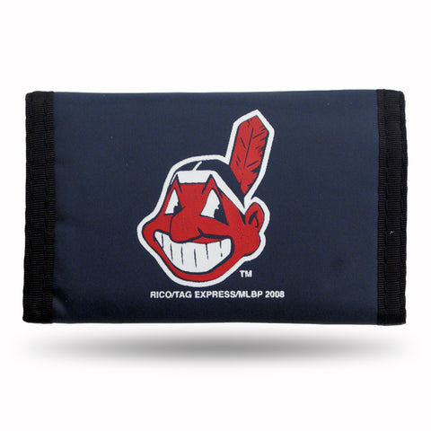 Cleveland Indians Wallet Nylon Trifold