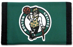 Boston Celtics Wallet Nylon Trifold