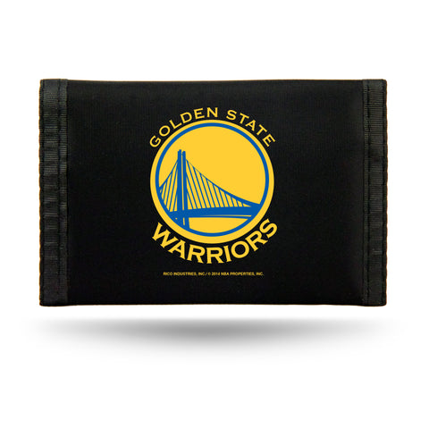 Golden State Warriors Wallet Nylon Trifold
