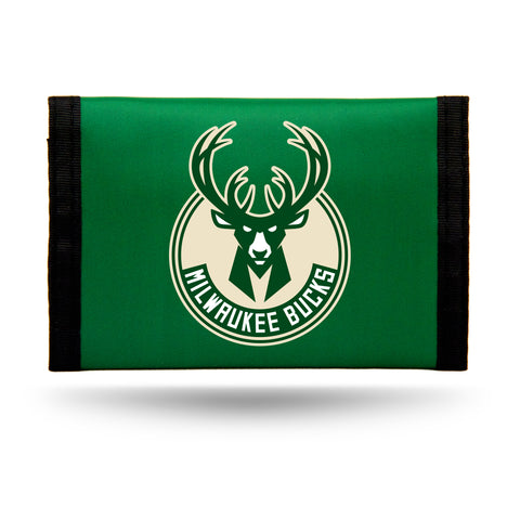 Milwaukee Bucks Wallet Nylon Trifold