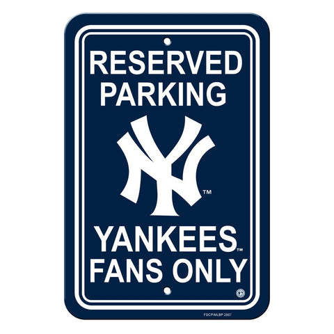 MLB New York Yankees Reserved Parking Sign