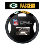 NFL Green Bay Packers Poly-Suede Steering Wheel Cover