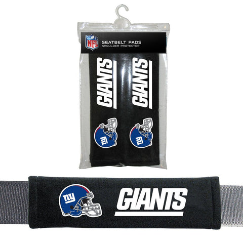 NFL New York Giants Seat Belt Pads