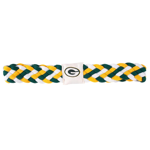 Green Bay Packers Braided Head Band 6 Braid