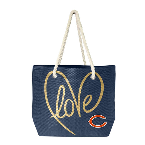 Chicago Bears Rope Tote (Navy Gold)
