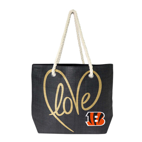 Cincinnati Bengals Rope Tote (Black Gold)