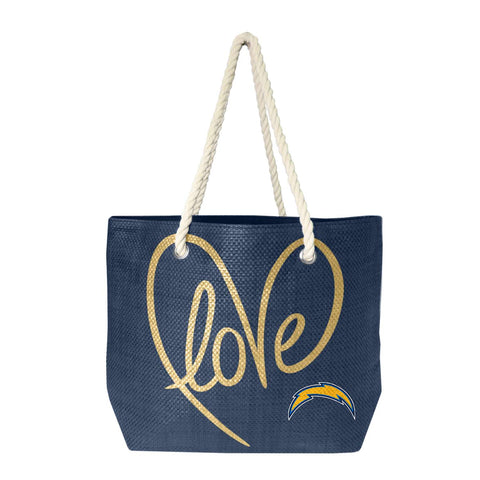 San Diego Chargers Rope Tote (Navy Gold)
