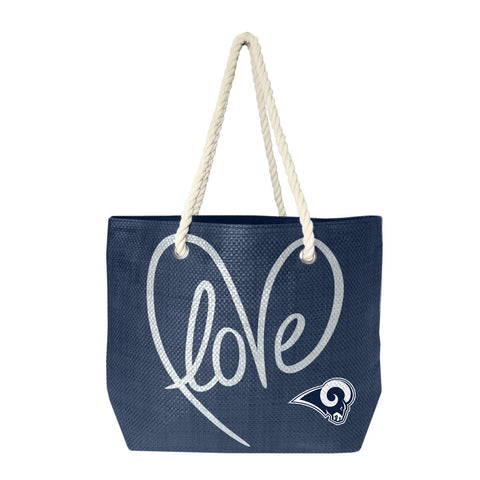 St. Louis Rams Rope Tote (Navy Gold)