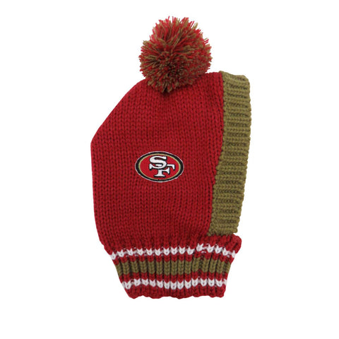San Francisco 49ers Team Pet Knit Hat (Medium)