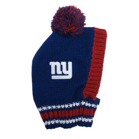 New York Giants Team Pet Knit Hat (Large)