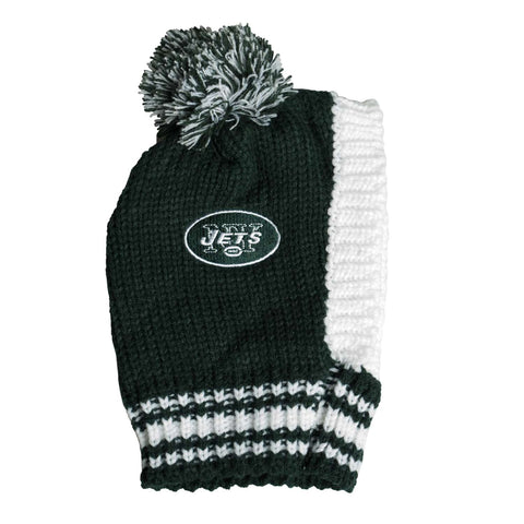 New York Jets Team Pet Knit Hat (Large)