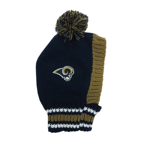 Los Angeles Rams Team Pet Knit Hat (Medium)