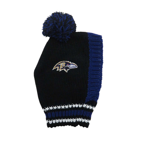 Baltimore Ravens Team Pet Knit Hat (Medium)