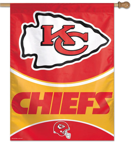 Kansas City Chiefs Banner 27x37