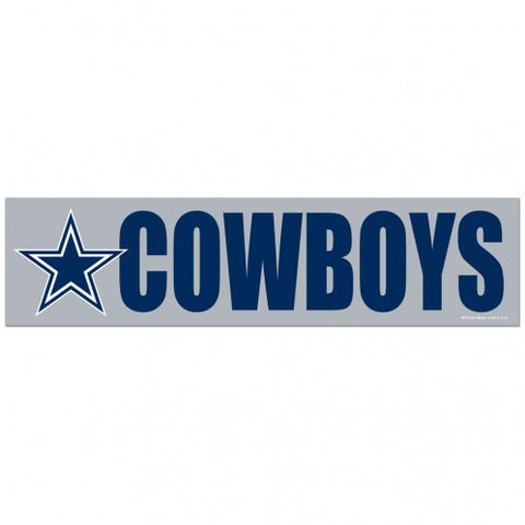 Dallas Cowboys Decal Bumper Sticker