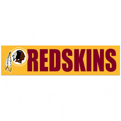 Washington Redskins Decal Bumper Sticker