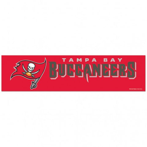 Tampa Bay Buccaneers Decal Bumper Sticker