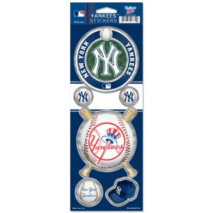 New York Yankees Stickers Prismatic