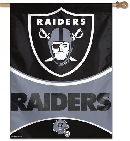 Oakland Raiders Banner 27x37
