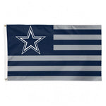 Dallas Cowboys Flag 3x5 Deluxe Americana Design