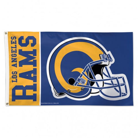 Los Angeles Rams Deluxe Flag 3x5 Classic Logo Retro