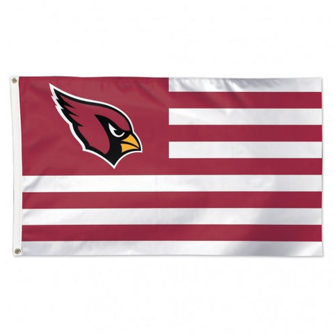 Arizona Cardinals Flag 3x5 Deluxe Americana Design